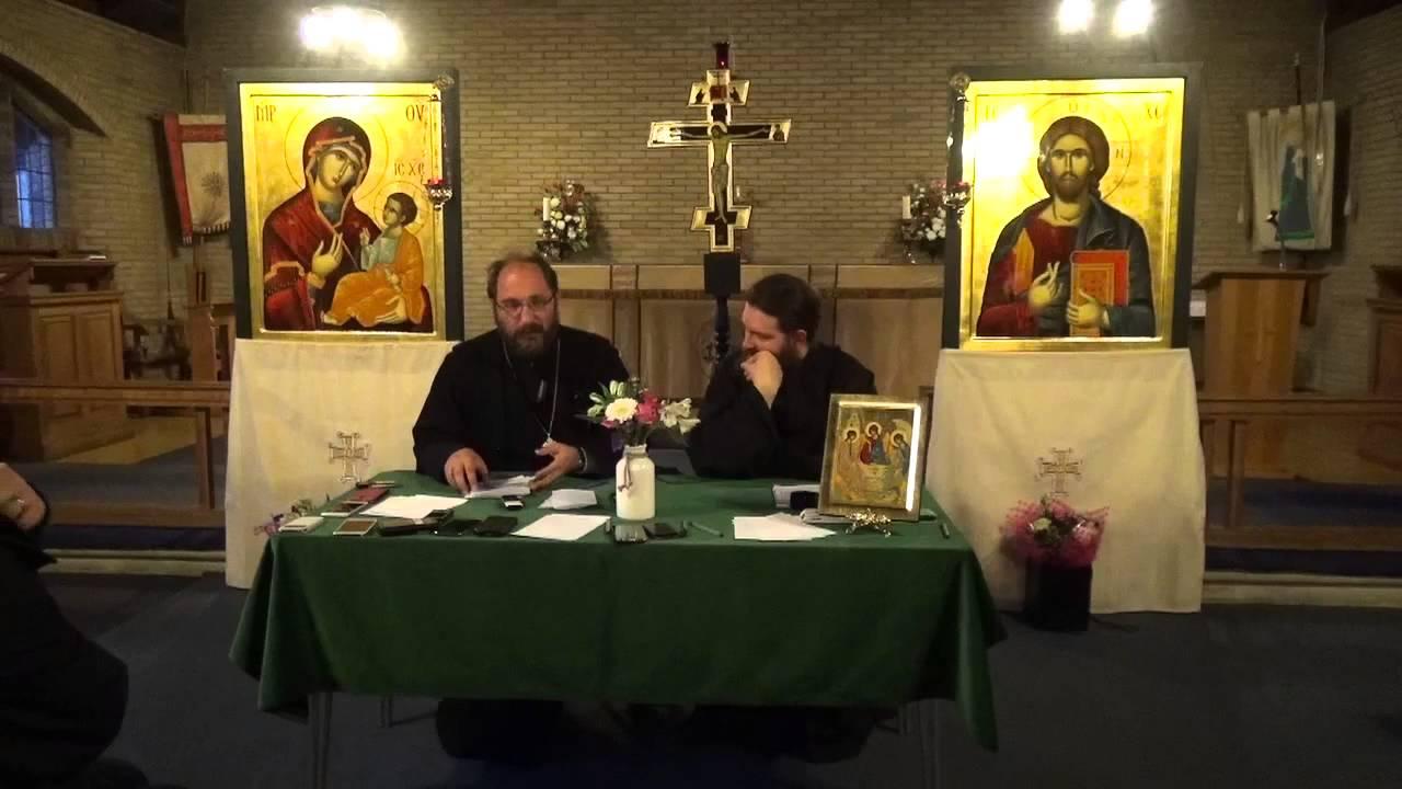 Conferinta Parintele Constantin Necula: Invierea lui Hristos – Invierea Noastra, Luton