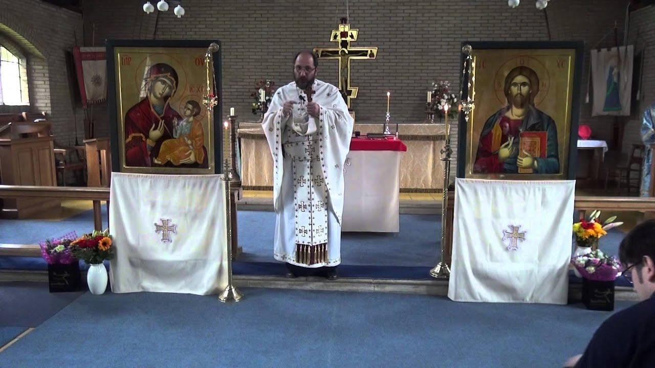 Predica Părintelui Constantin Necula – Duminica Sf. Ap. Toma (2015) la Luton